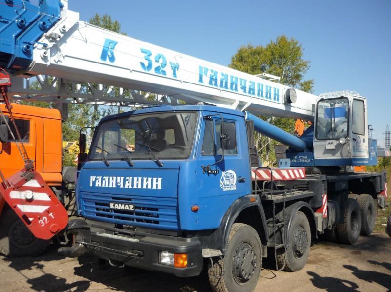 Автокран Галичанин КС-55729-1В в аренду