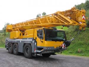 Аренда автокрана Liebherr LTM 1050