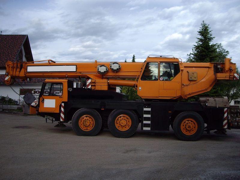 Автокран Liebherr LTM 1050 в аренду