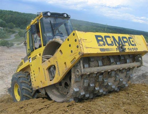 Аренда катка Bomag BW216 PDH-4 в Москве