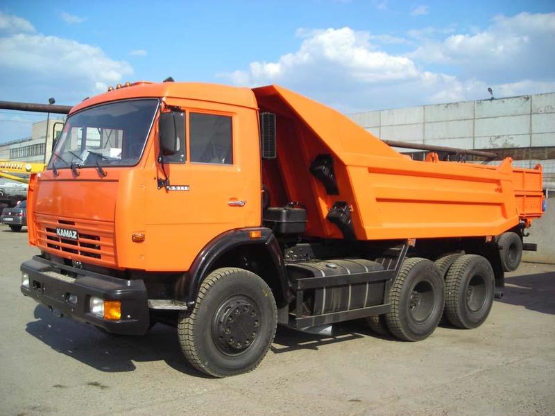 Аренда самосвала КамАЗ 55111 в Московской области