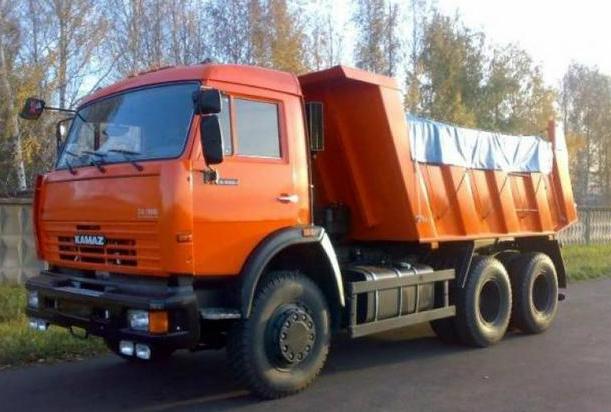 Аренда самосвала КамАЗ 65115 в Московской области