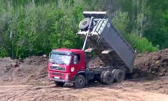 Заказать аренду самосвала VOLVO FMX 6x4 в Москве