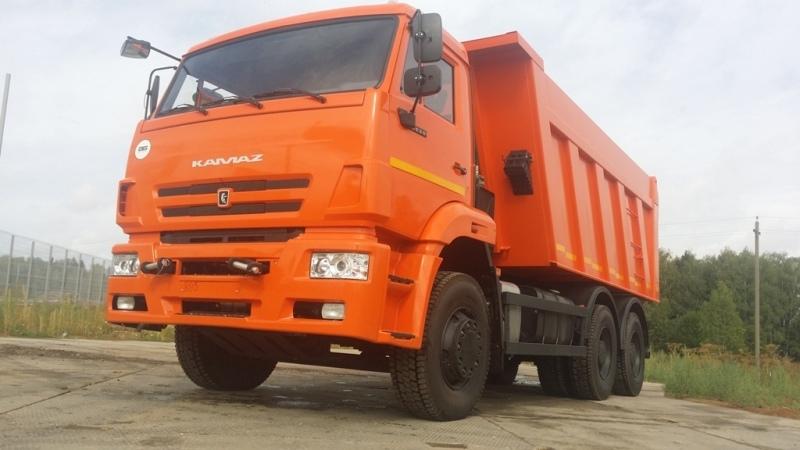 Аренда самосвала КамАЗ 6520 в Московской области