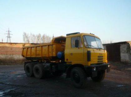 Аренда самосвала Tatra T815-290S24 в Москве