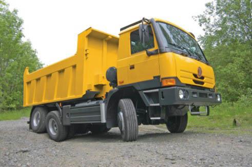 Аренда самосвала Tatra T815-290S24 в Московской области