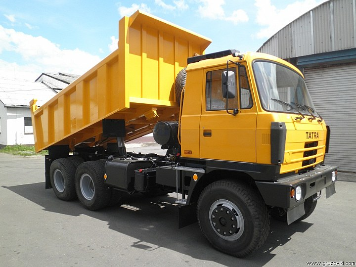 Взять в аренду самосвал Tatra T815-290S24