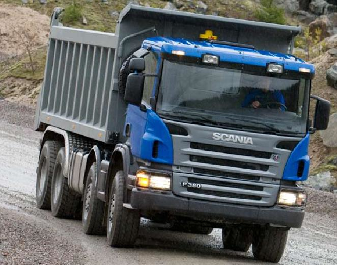 Аренда самосвала Scania P380 CB8X4EHZ в Московской области