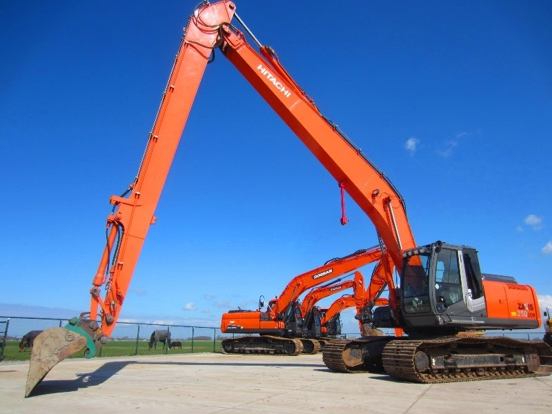 Прокат Hitachi ZX250 Long Reach