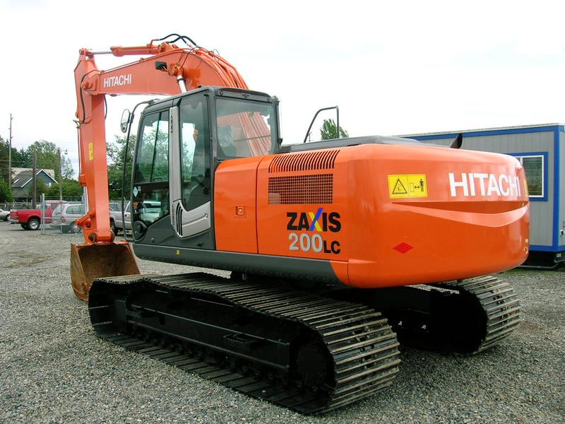 Аренда Hitachi ZX200LC