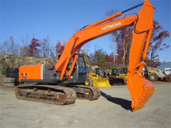 Эксаватор Hitachi ZX200LC в аренду