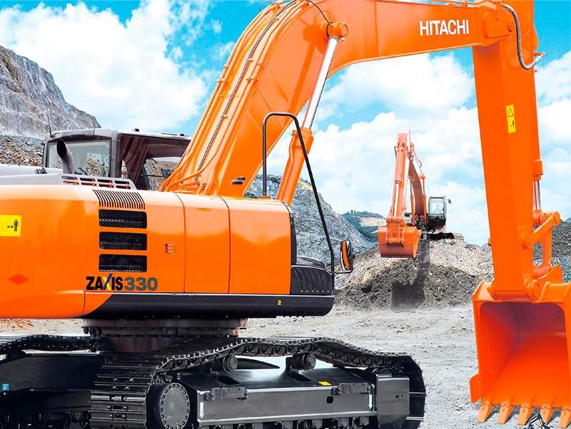 Аренда грейфера Hitachi ZX330-3 недорого