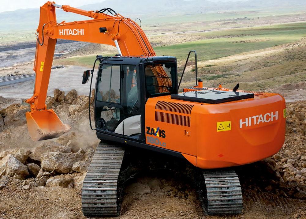 Арендовать экскаватор Hitachi ZX180LCN-5G по хорошей цене