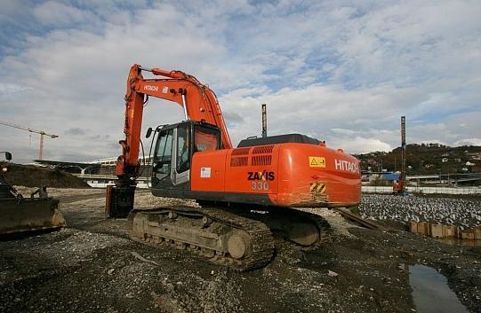 Аренда Hitachi ZX330-3